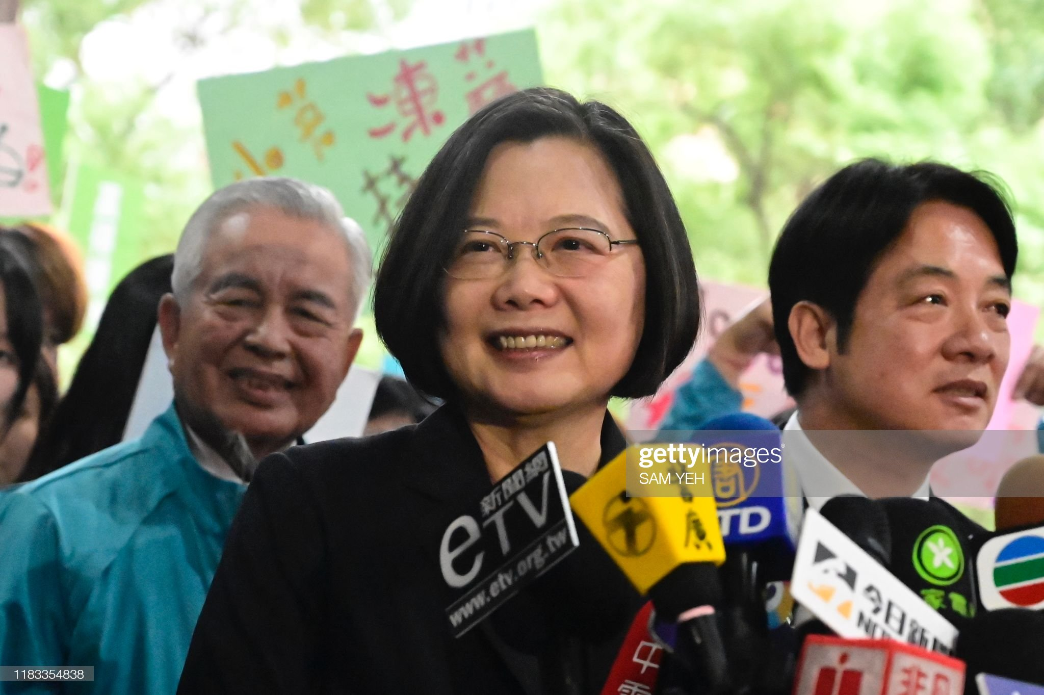 TAIWAN-POLITICS-ELECTIONS : News Photo