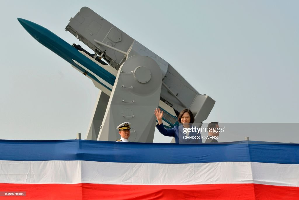 TAIWAN-US-CHINA-MILITARY-FRIGATE-POLITICS : News Photo