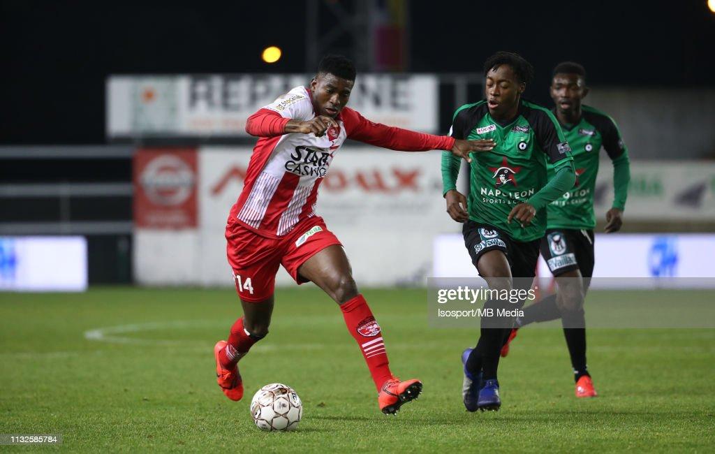 Royal Excel Mouscron v Cercle Brugge KSV - Jupiler Pro League : News Photo