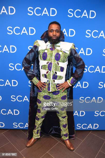 Taiye Samuel attends 'Black Panther' Advanced Screening Panel Discussion presented by Brisk at SCADshow on February 14 2018 in Atlanta Georgia
