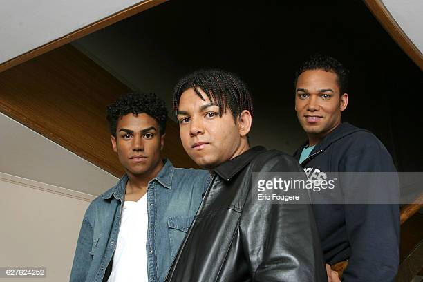 Taj and Taryll are pop star Michael Jackson's nephews and form the band 3T.