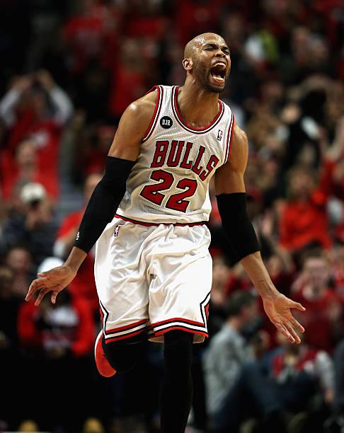 Taj Gibson of the Chicago Bulls