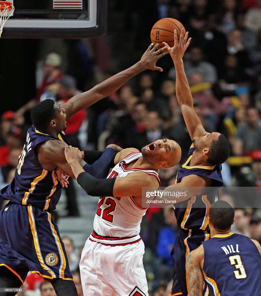 Indiana Pacers v Chicago Bulls : News Photo
