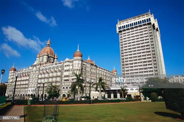 Taj hotels at Apollo Bunder in Mumbai, India.