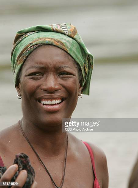 Taj JohnsonGeorge during the twelfth episode of SURVIVOR TOCANTINS THE BRAZILIAN HIGHLANDS Thursday May 7 on the CBS Television Network