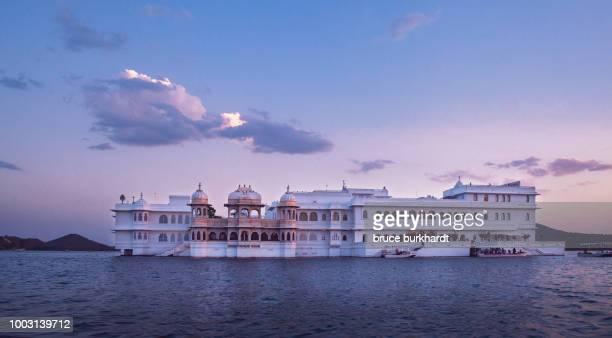 Taj Lake Palace in Udaipur, Rajasthan, India