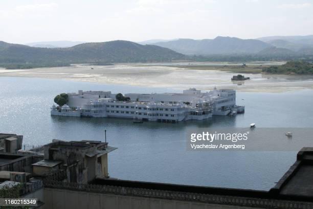 taj lake palace, udaipur, india - argenberg bildbanksfoton och bilder