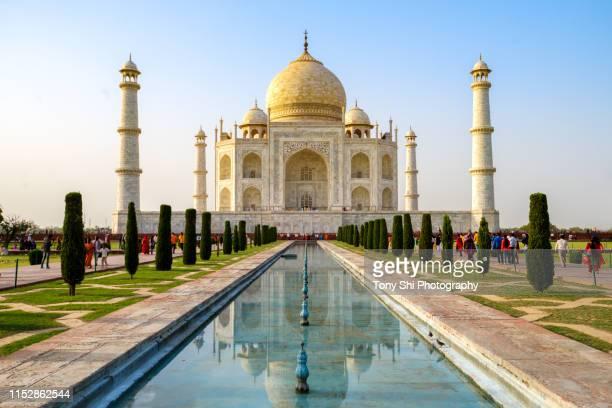 taj mahal, agra, india - taj mahal stock pictures, royalty-free photos & images