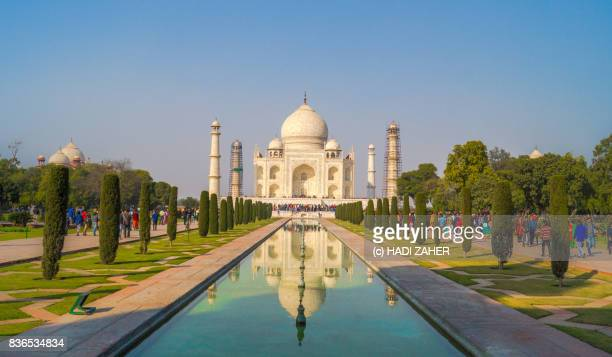 taj mahal | agra | india - taj mahal stock photos and pictures