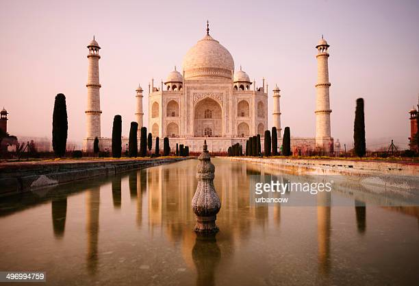 taj mahal, agra - taj mahal stock photos and pictures