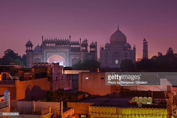 Taj Mahal and south gate