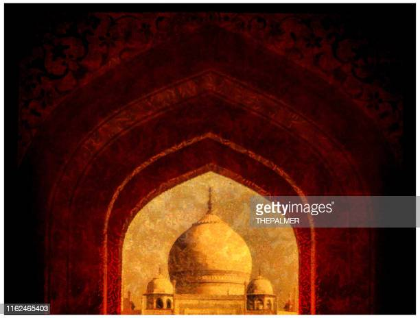 taj mahal - digital photo manipulation - celebrity death stock pictures, royalty-free photos & images