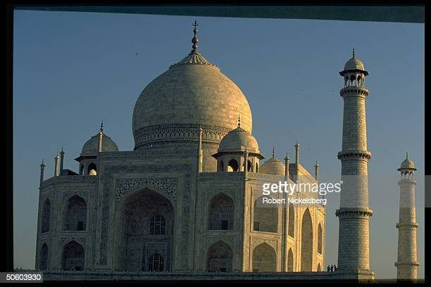 Taj Mahal, effected by tourist chipping vandalism & regional industry pollution, case in court taken on by environmental lawyer seeking removal of...
