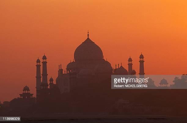 Taj Mahal In Agra, India In June, 1998.