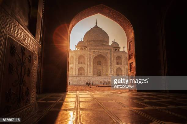 taj mahal, india - agra stock pictures, royalty-free photos & images