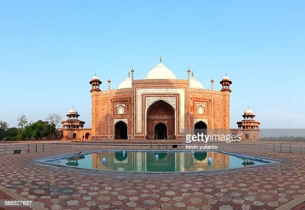 taj mahal mosque - agra jama masjid mosque imagens e fotografias de stock