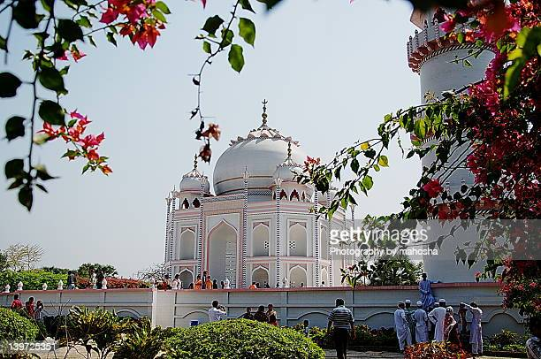 taj mahal of bangladesh - bangladeshi flowers stock pictures, royalty-free photos & images