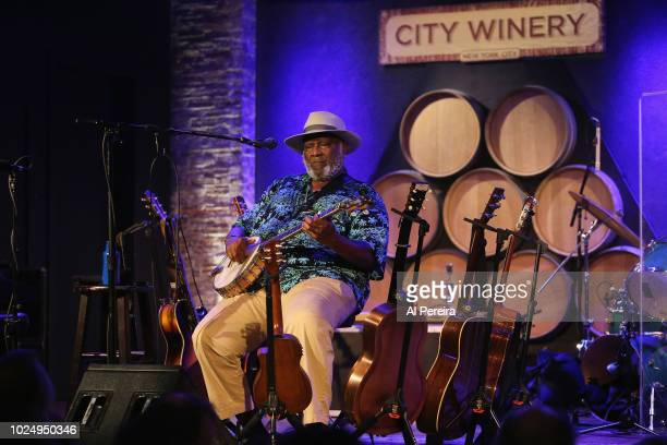 Taj Mahal performs with the Taj Mahal Trio at City Winery on August 28 2018 in New York City