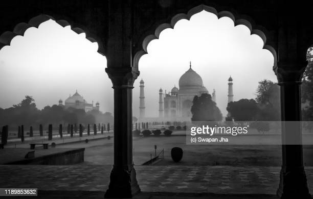 taj mahal - monument stock pictures, royalty-free photos & images