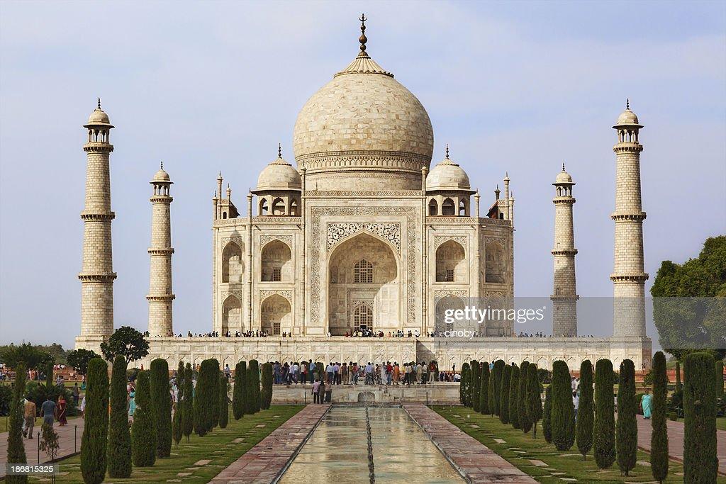 Taj Mahal Wall Art & Taj Mahal reflection   Photos.com