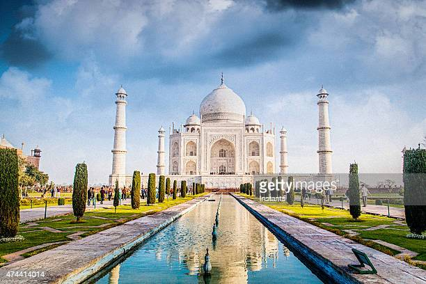 taj mahal - taj mahal stock pictures, royalty-free photos & images