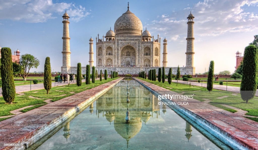 Taj Mahal : Stock Photo