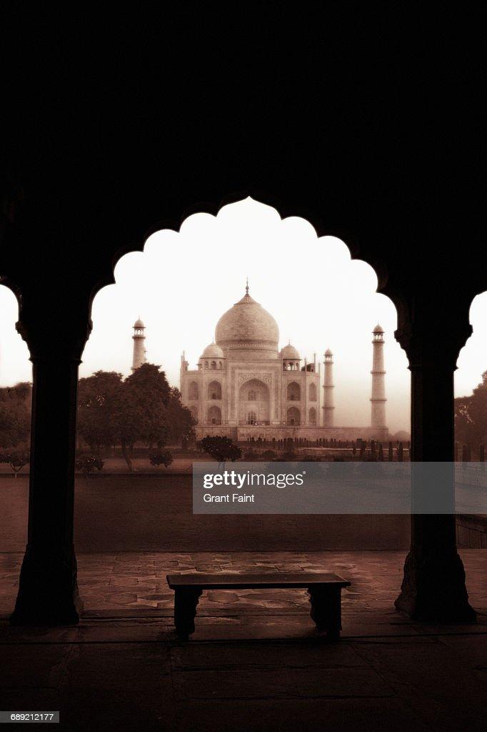 Taj Mahal. : Stock Photo