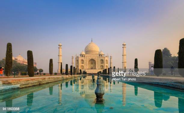 taj mahal - delhi stock pictures, royalty-free photos & images