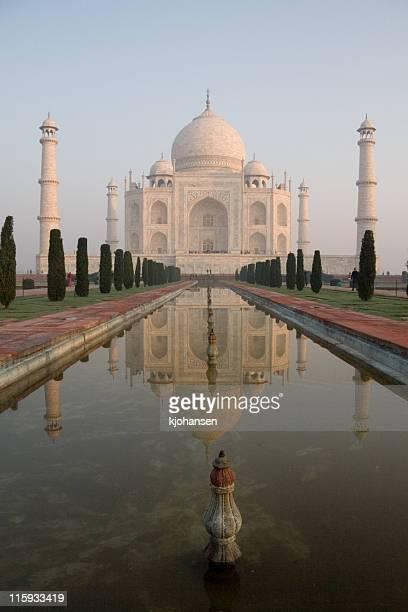 Taj Mahal piscine miroitante