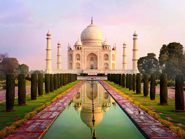 Taj Mahal Spectacular Early Morning View Wall Art