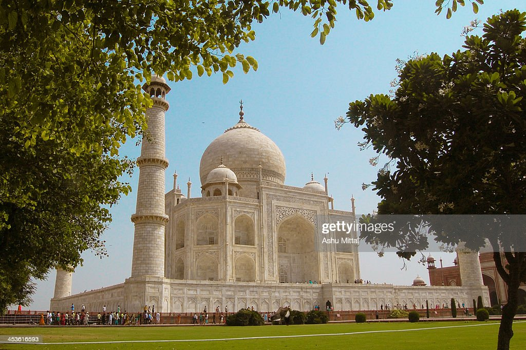 Taj Mahal The Symbol Of Love Stock Photo Getty Images