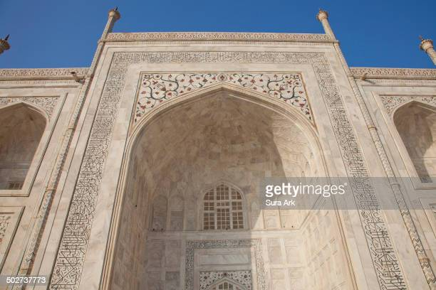 CONTENT] Taj Mahal was built by a Muslim Emperor Shah Jahan in the memory of his dear wife and queen Mumtaz Mahal at Agra India Taj Mahal is a...