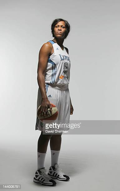 Taj McWilliamsFranklin of the Minnesota Lynx poses for a portrait during 2012 Media Day on May 7 2012 at the Minnesota Timberwolves and Lynx LifeTime...