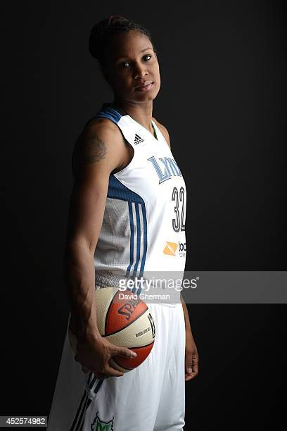 Taj McWilliamsFranklin of the Minnesota Lynx poses for a portrait during 2013 Media Day on May 16 2013 at the Minnesota Timberwolves and Lynx...