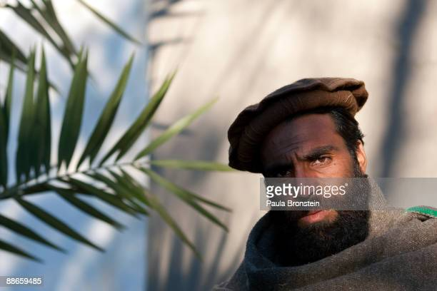 JALALABAD AFGHANISTAN FEBRUARY 6 2009 Taj Mohammad from Kunar is pictured on February 6 2009 in Jalalabad Afghanistan According to his testimony he...