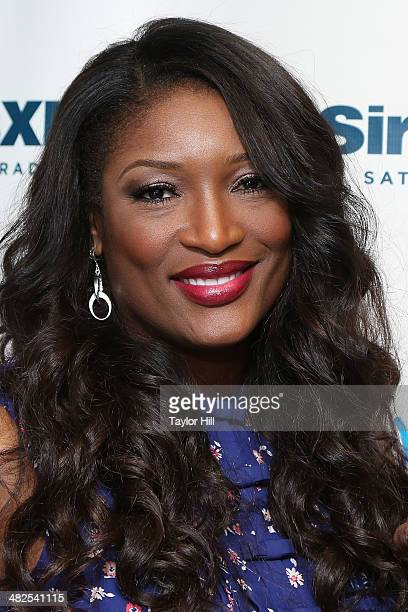 Taj of Sisters With Voices visits the SiriusXM Studios on April 3 2014 in New York City