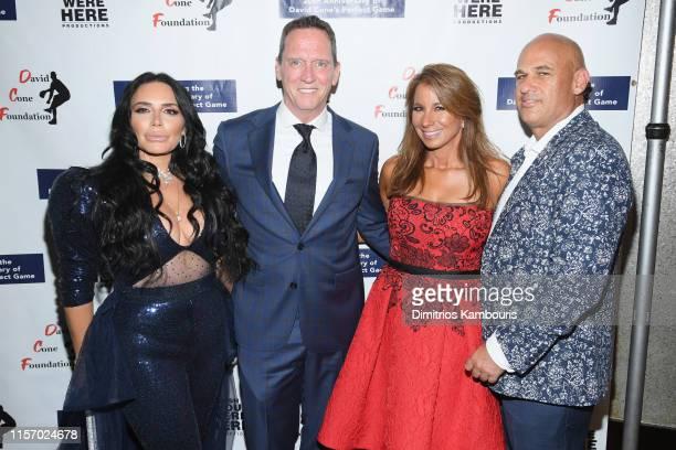 Taja Abitbol David Cone Jill Zarin and Gary Brody attend David Cone's 20th Anniversary of the Perfect Game on June 19 2019 in New York City
