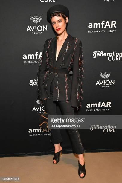 Taja Feistner attends the amfAR GenCure Solstice 2018 on June 21 2018 in New York City