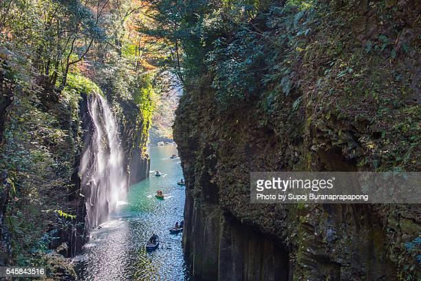 Takachiho-Kyo waterfall , Japan