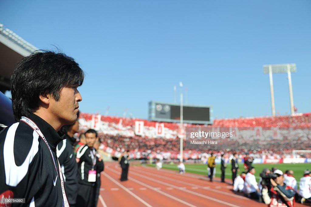 Urawa Red Diamonds v Kashima Antlers - J. League Yamazaki Nabisco Cup Final : ニュース写真