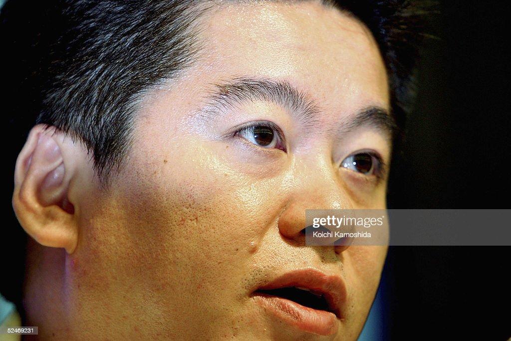 Livedoor Wins Nippon Broadcasting Stock Sale Ruling : ニュース写真