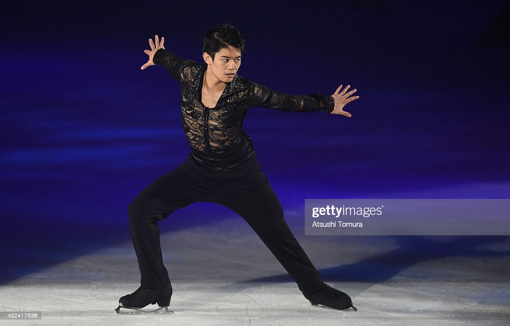 Takahiko Kozuka of Japan performs his routine during THE ICE 2014 at the White Ring on July 19, 2014 in Nagano, Japan.