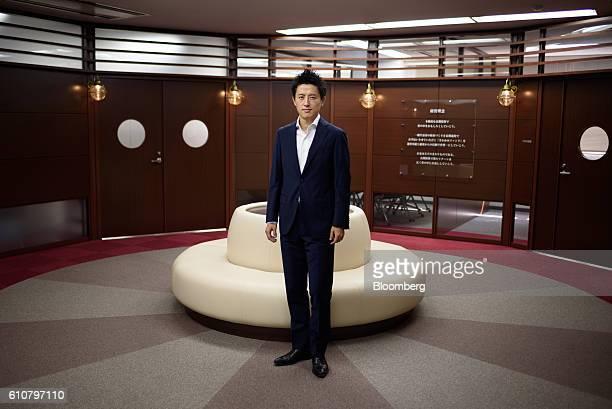 Takahiro Kusakari chief investment officer of Sawakami Asset Management Inc poses for a photograph in Tokyo Japan on Friday Sept 2 2016 Kusakari went...