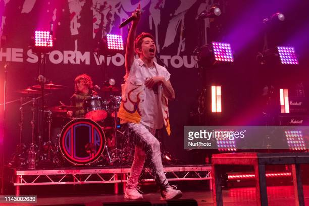 Takahiro Moriuchi, Taka of the Japanese rock band ONE OK ROCK in Concert at the Roundhouse, London, on 10 May 2019, England.