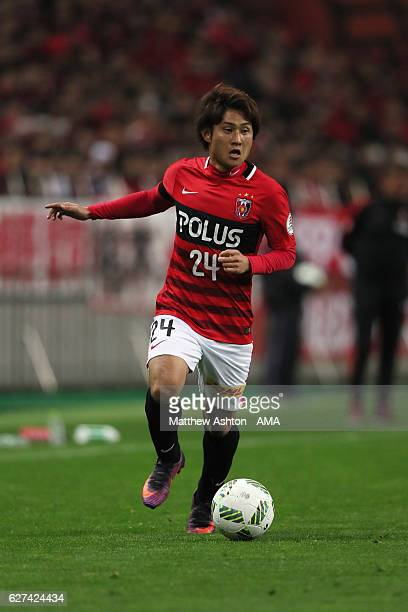 Takahiro Sekine of Urawa Red Diamonds during the JLeague Championship Final second leg match between Urawa Red Diamonds and Kashima Antlers at...