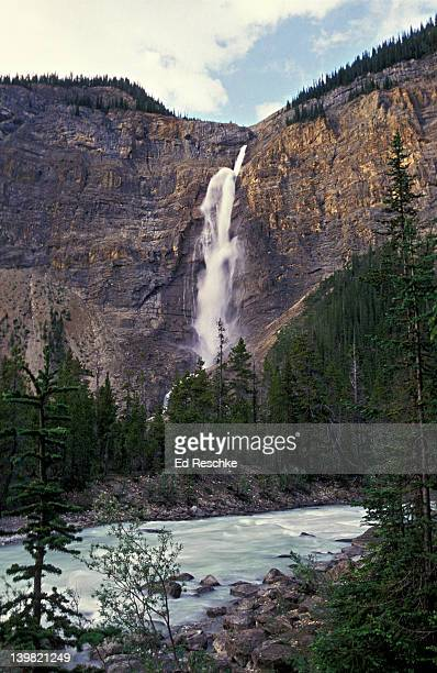 Takakkaw Falls, at 380 meters, is the second highest waterfall in Canada, Yoho National Park, British Columbia