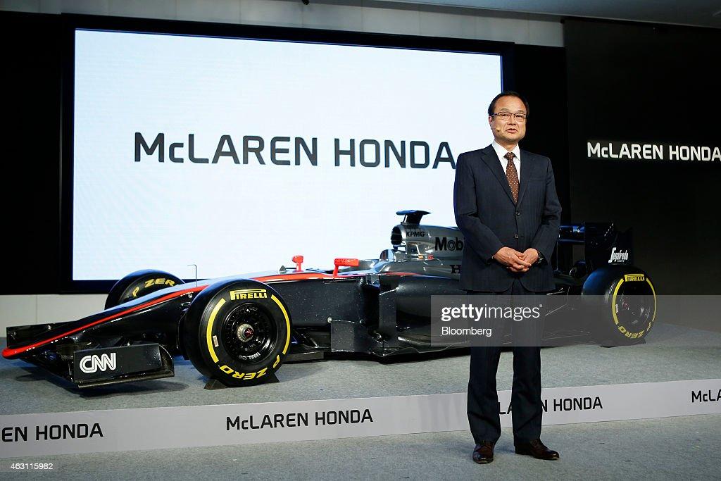 Honda Motor Co President Takanobu Ito And McLaren Group CEO Ron Dennis News Conference