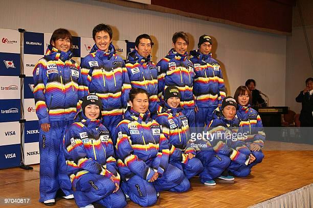 Takanobu Okabe Norihito Kobayashi Daito Takahashi Kentaro Minagawa Naoki Yuasa Aiko Uemura Nobuyuki Nishi Miki Ito Ryo Aono and Eri Yanetani attend a...