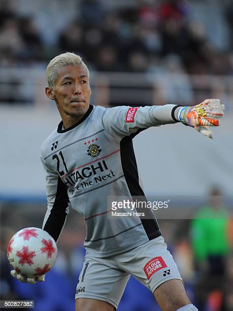 Takanori Sugeno of Kashiwa Reysol in action during the 95th Emperor's Cup semi final match between Urawa Red Diamonds and Kashiwa Reysol at Ajinomoto...