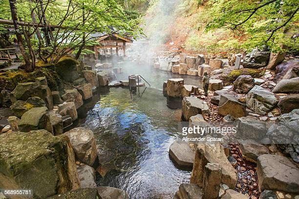 Takaragawa hot springs (onsen), Gunma, Japan